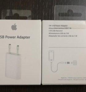 Зарядные устройства APPLE USB Power AdapterMD813Z