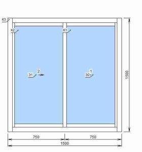 Окна ПВХ slaidors