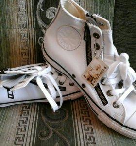 Кеды Converse натуральная кожа