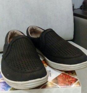 Школьные ботинки для мальчика