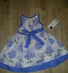 Новое Платье размер 92