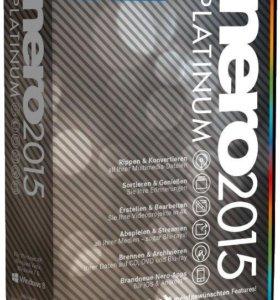 Nero 2015 Platinum лицензионная