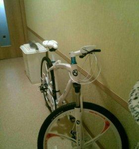 Велосипед новый bmw