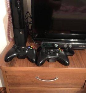 Xbox 360 полный комплект.