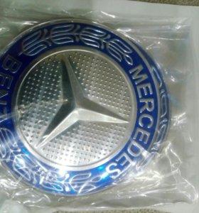 Наклейка ступицы диска mercedes