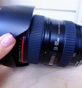 Объектив Canon EF 24-105mm f/4L