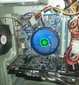 Компьютер(системник+монитор)