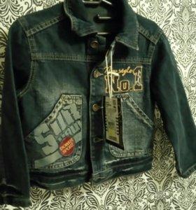 Новая джинсовка GJ
