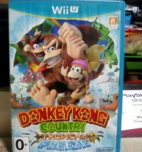 Donkey Kong на Nintendo Wii U