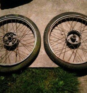 Колеса от мопеда, мотоцикла