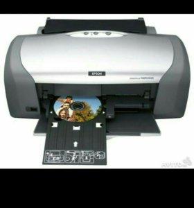 Принтер струйный Epson stylus R220