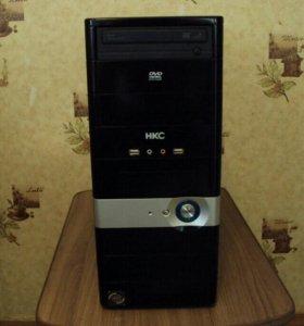 Компьютер двухядерный,Видеокарта 512мб.