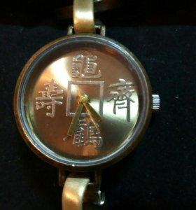 """Часы-браслет """"Китайский иероглиф"""" наруч.жен"""