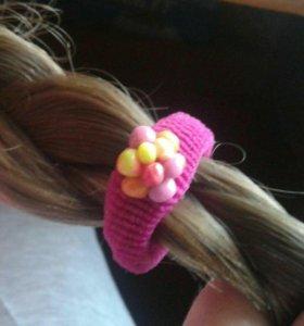 детские резинки на волосы