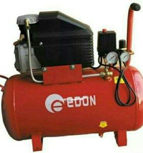 Компрессор масляный Edon 25 и 50 литров