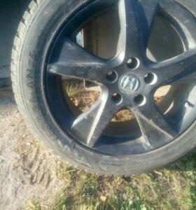 колеса зимние r17