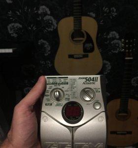 Zoom 504 ll CG процессор для акустической гитары
