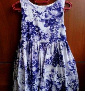 Красивые платья для девочки 116-122 см.