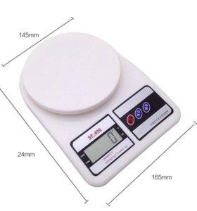 Кухонные электронные весы от 1 гр. до 7 кг