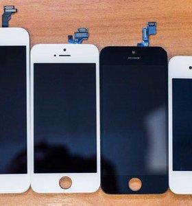 Дисплеи для iPhone 4/4s/5/5c/5s/6/6s/7