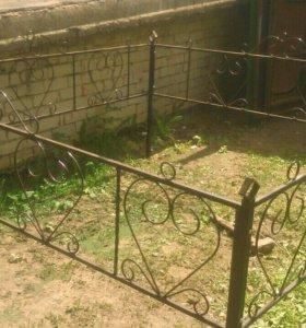 Ограда 1 местная