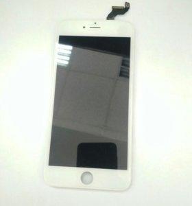 Модуль дисплея iphone 6s plus белый