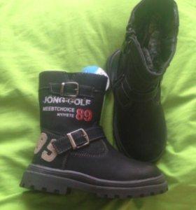 Новые зимние ботинки 25