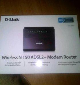 Wi-fi модем- роутер adsl