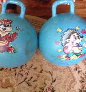 Надувные мячи для спорта