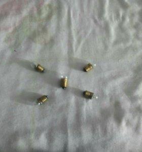 Лампочка накаливания МН13,5 в 0,16а