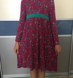 Трикотажное платье для девочки