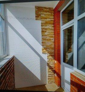 Остекление балконов и лоджий окна