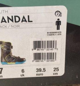 Ботинки для сноуборда K2.