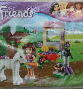 Конструктор LEGO Friends Оливия и пони.