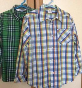 Рубашки для мальчика 116-122р-р