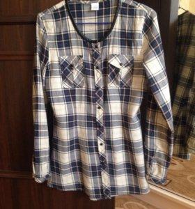 Рубашка-блузка р.44