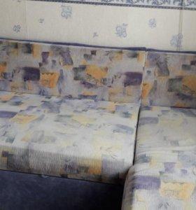 Угловой диван мягкий