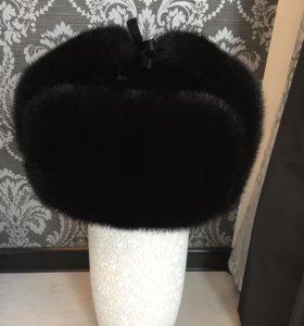 Мужская норковая шапка в идеальном состоянии