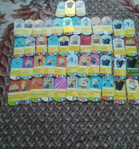 48 карточек меньонов