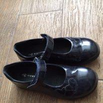 Туфли кожаные Richter черничного цвета