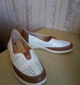 Туфли женские летние, размер 41