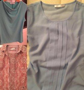 Пакет одежды 44 s 6 блузок