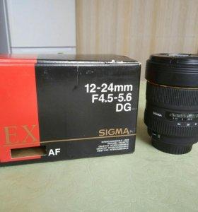 Sigma AF 12-24mm f/4.5-5.6 EX DG HSM Canon EF