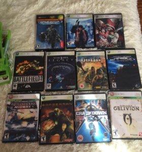 Диски Xbox 360 по 200 р