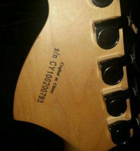 Электрогитара Fender Squier affinity