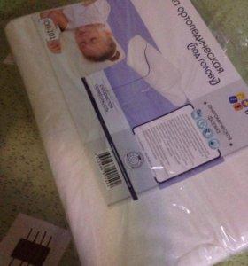 Детская ортопедическая подушка новая