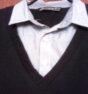 Рубашка иметация 48-50