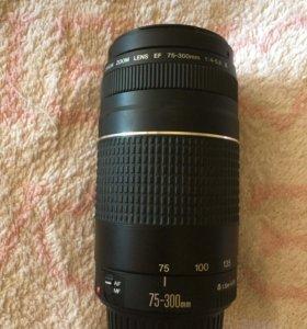 Объектив Canon EF 75-300mm f/4-5.6 III