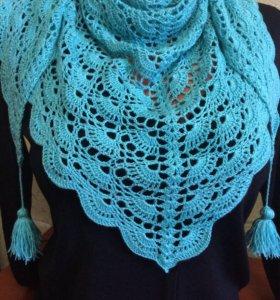 Бактус ( шарф на шею)
