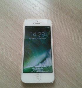 Продам айфон 5 16